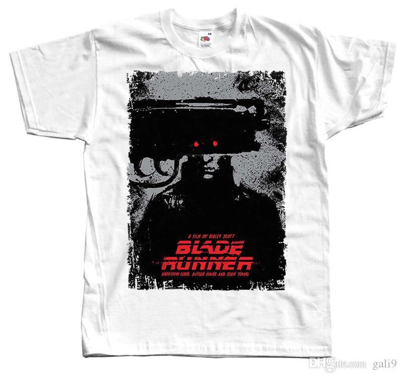 H Scott Poster Ford Acquista RUNNER T BLADE S Shirt Movie R Bianca wTqInS0