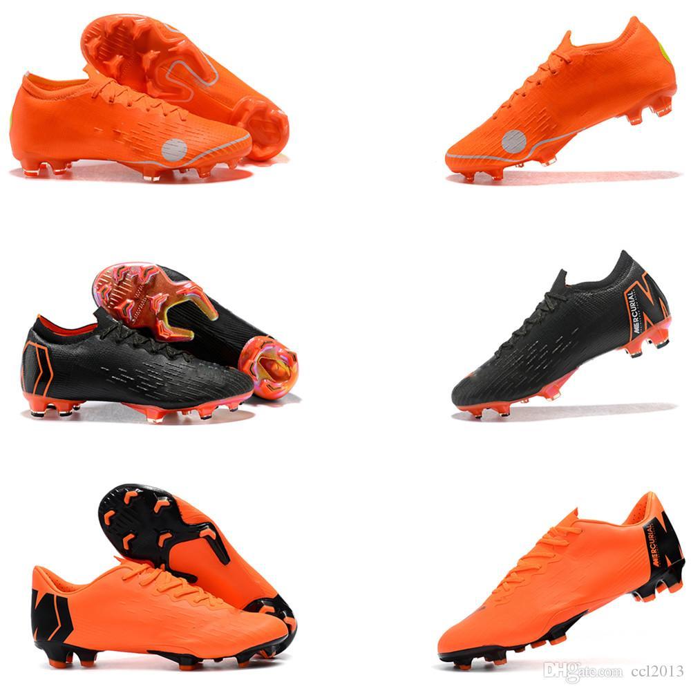 Compre 2018 Los Mejores Zapatos De Fútbol Para Hombre Original Mercurial  Superfly VI 360 Elite FG Baja Zapatos De Fútbol De Alta Calidad Tamaño EU39  45 A ... c70b101192d91