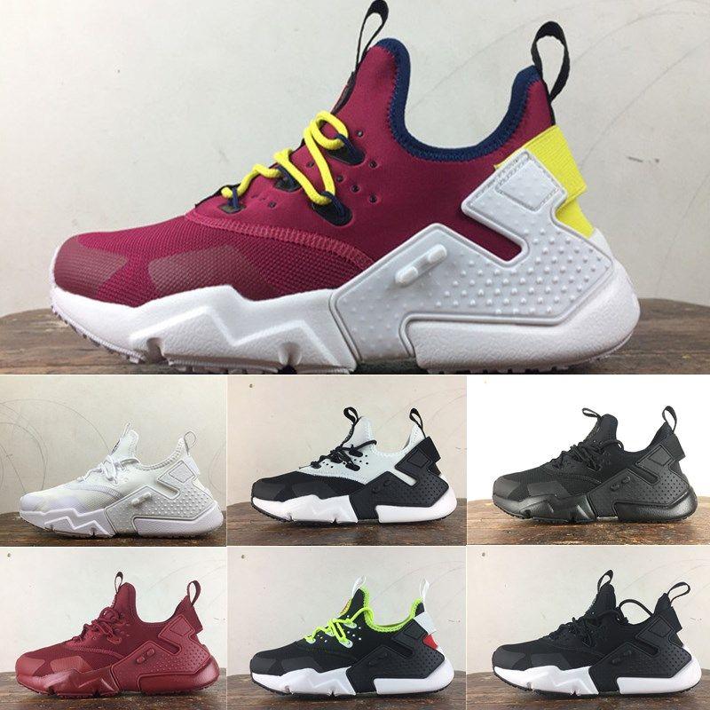 9f1a51e20 Scarpe Fitness Dimagranti Vendita A Buon Mercato Air Huarache 6 Acronimo  City MID High Top In Pelle Huaraches Running Shoes Uomo Donna Huraches  Sneakers ...