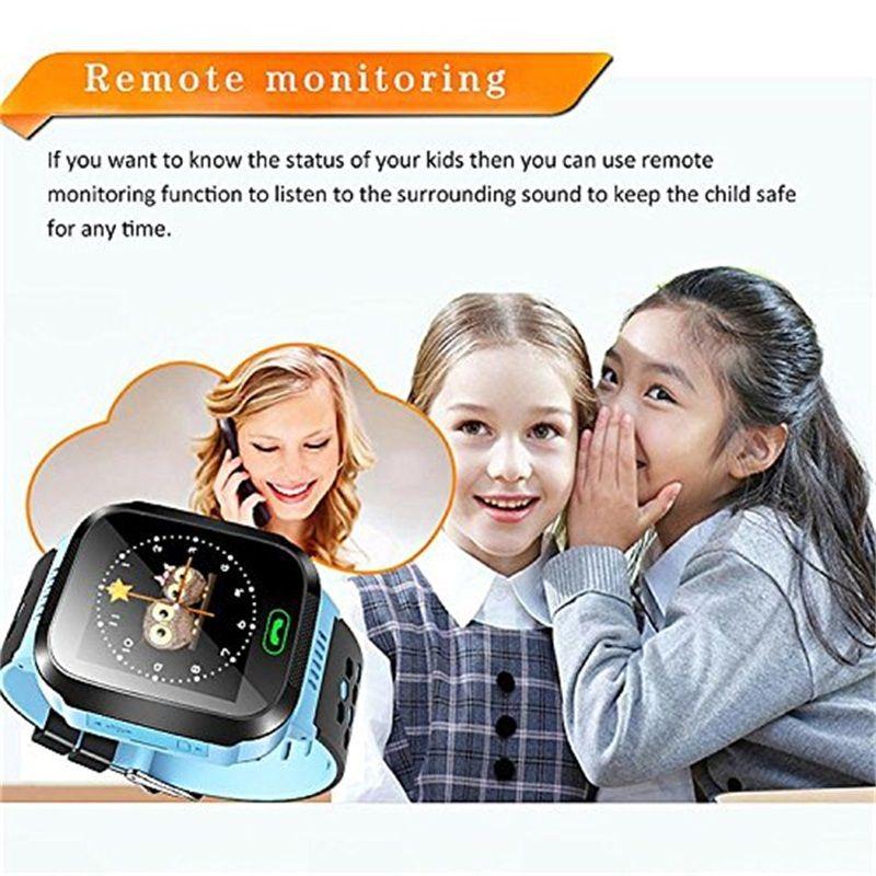 Yeni Q528 Çocuklar Izci Akıllı İzle GPS Flaş Işığı ile Dokunmatik SOS Çağrı LBS Konum Bulucu için Çocuk PK Q50 tracker kutusunda