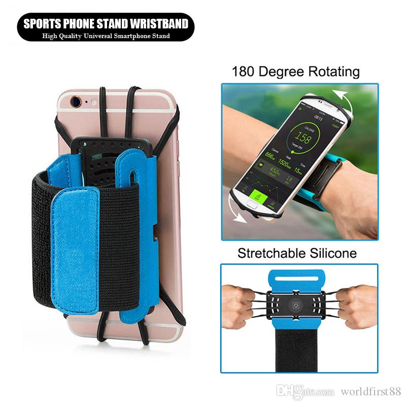 Outdoor Phone Armbands Rotary Running Sports Armbands For Male And Female For 3.5 To 6 Inches Cellphone For Iphone/samsung Cellphones & Telecommunications Mobile Phone Accessories