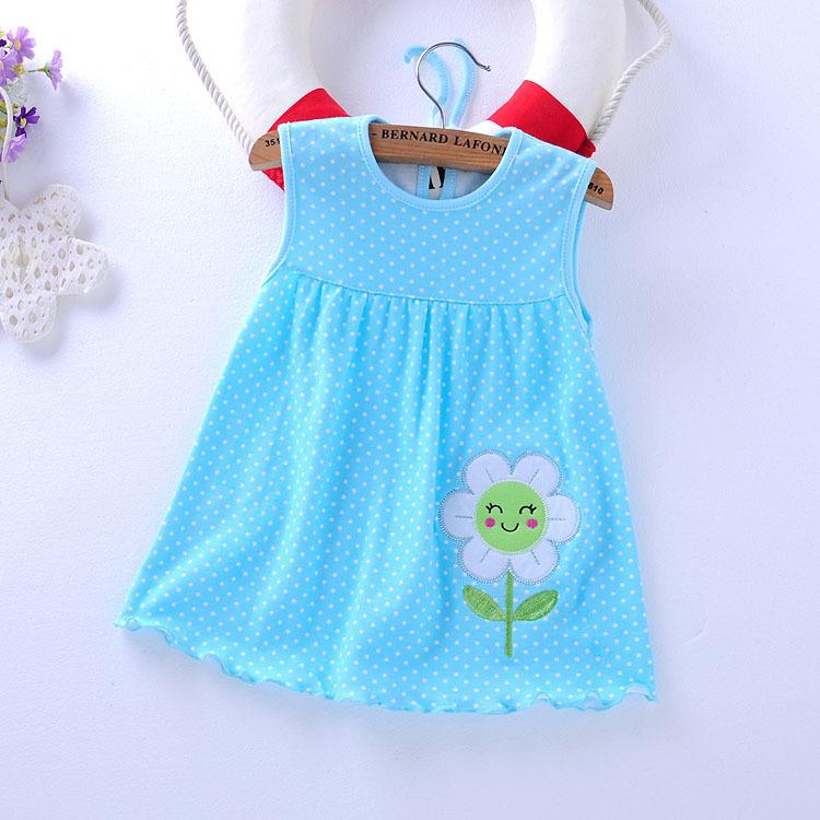 27b1bf7537ae2 Baby Girl Clothing Baby Dress Style 2017 Summer Flower Sales Girl Fashion  Dress Style Super Low Price