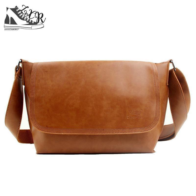 c46db8daac Zuoxiangru 2018 New Promotion Designers Brand Men S Messenger Bags Pu Leather  Vintage Mens Handbag Man Handbags Bag For Men Leather Handbag Branded  Handbags ...