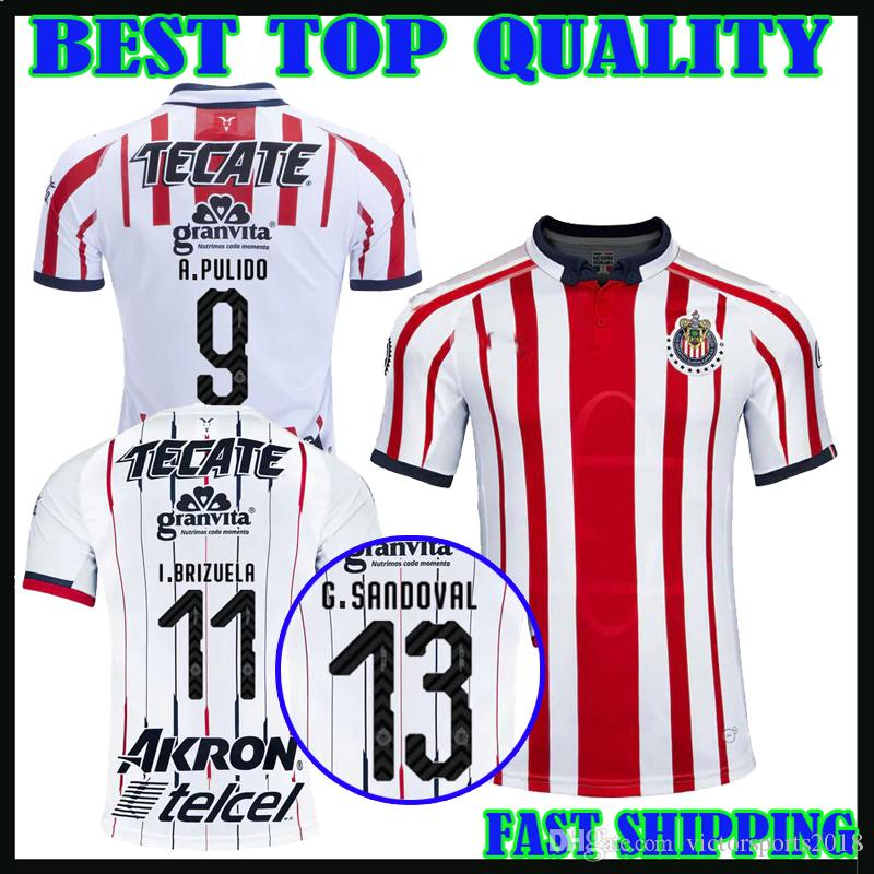 8ba04243b77 ... good 2018 18 19 mexico liga mx chivas guadalajara soccer jersey home  away 2018 2019 a