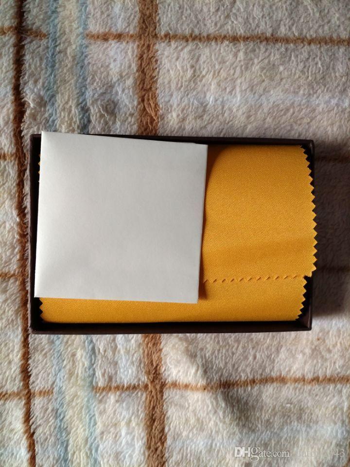 Mode Marque Design Gy Passport Couvercle Sac Véritable Porte-cartes en cuir véritable avec boîte à poussière Papier Tags