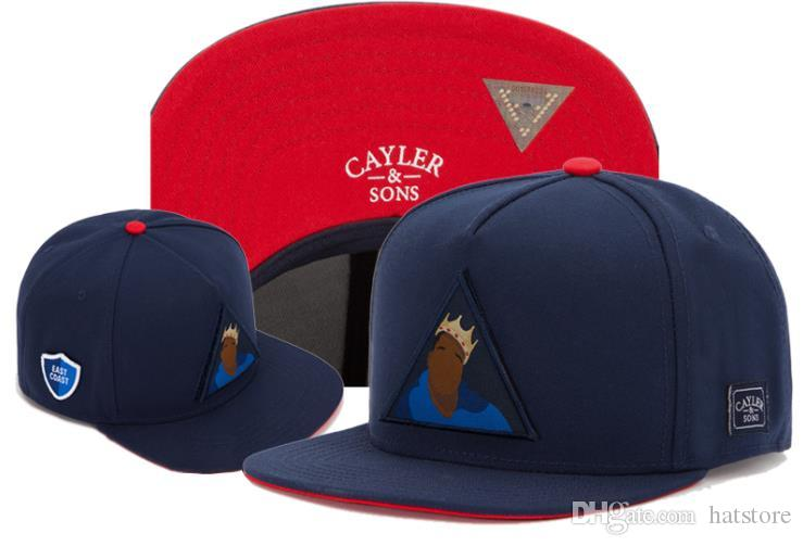 low priced 3cec6 709de Ball Caps Mens Snapback Cayler And Sons Fashion Baseball Cap For Men  Leisure Fashion Navy Blue Snap Backs 2018 New Style TYMYY 568 Custom Fitted  Hats Design ...