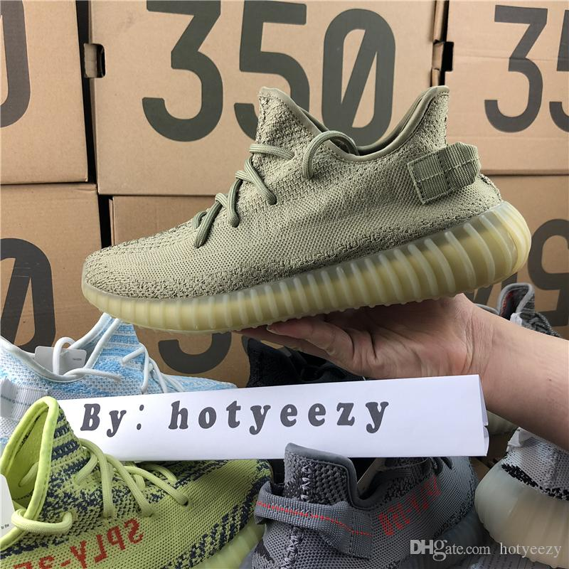 2018 Kanye West SPLY 350 V2 Boost Men Women Running Shoes Semi Frozen B37572 Orange Grey Beluga 2.0 AH2203 Sports Shoes ebay outlet low price fee shipping discount new arrival outlet enjoy HGJcWtBs