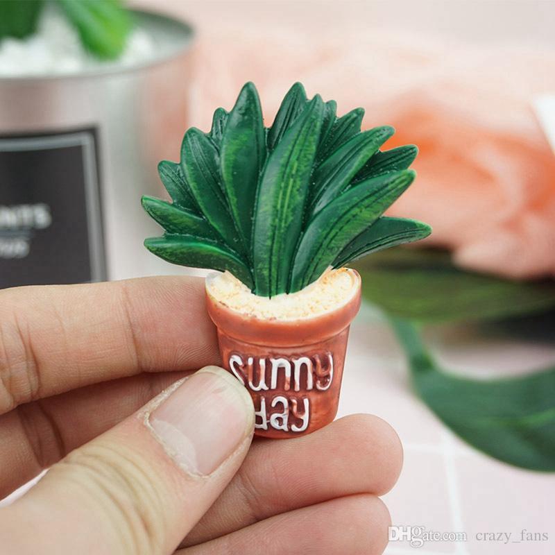 Niedlichen Cartoon Kühlschrank Magneten Pflanze Kühlschrankmagnete Magnetischen Aufkleber Wohnkultur Küche Zubehör Wohnzimmer Schlafzimmer Wandaufkleber