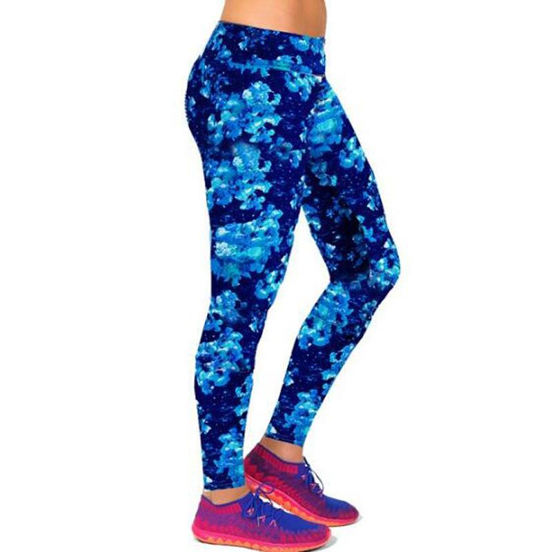 99a9607d80c2b3 2019 2017 New Arrival New Brand High Waist Floral Workout Leggings Fashion  Printing Slim Leggings Lady Pants Wear From Xiatian8, $32.05 | DHgate.Com