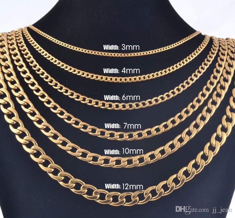 Кубинская настоящая золотая цепь для мужчин тяжелые очаровательные ювелирные изделия Оптовая колье хип-хоп веревка ожерелье 18 К медь горячая продажа ограниченная Бесплатная доставка