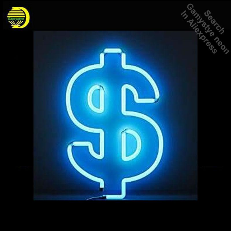 Neon Signs For Sale >> 2019 Neon Sign Factory Money Dollar Neon Light Sign Beer Bar Pub