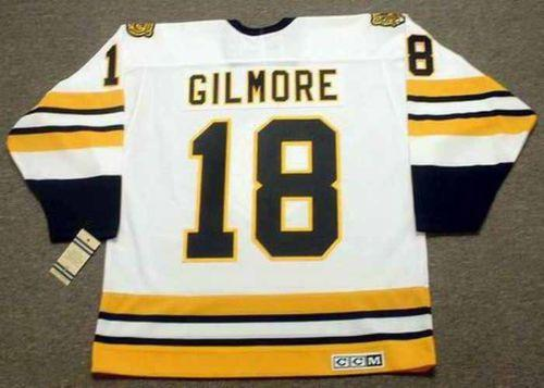 7bcdafee0 ... 2018 wholesale cheap happy gilmore boston bruins ccm vintage white  hockey jersey all stitched top quality