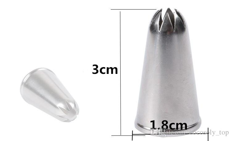 kitchen accessories Icing Piping Nozzles Pastry Tips Cake Cupcake Decorating Tools russian tips