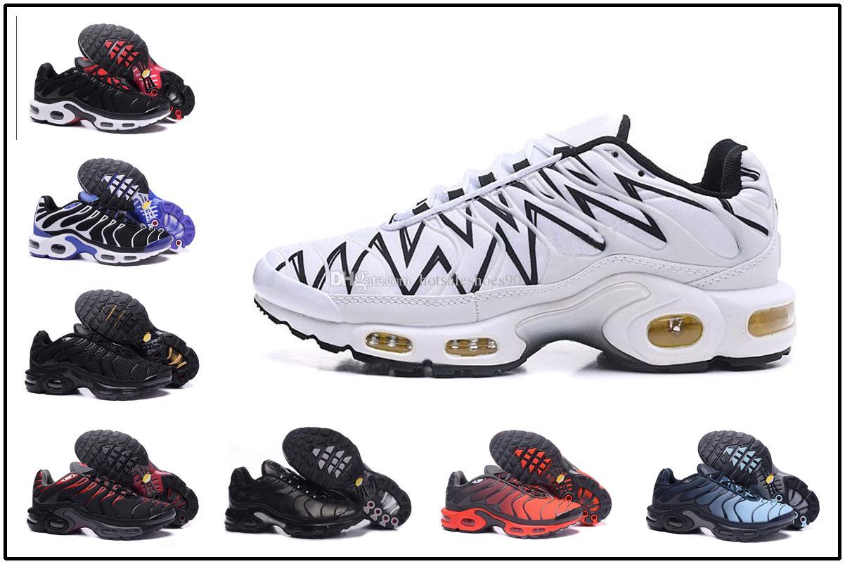 sports shoes 07315 1382f Compre Nike Air Max TN Plus Vapormax Airmax Top Barato TN Zapatos Casuales  Para Hombre Ultra Sports TN Requin Zapatillas Zapatos Plus TN Air Cushion  ...