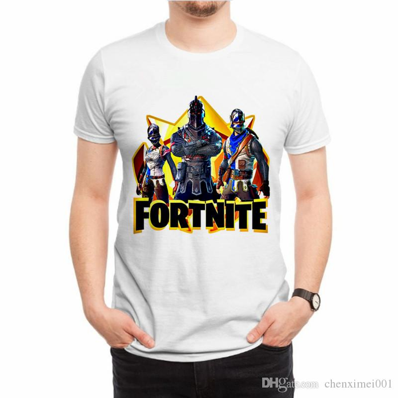 862f096c36d HOT 2018 Fortnite T Shirts Mens Summer Fashion Camiseta Short Sleeve T Shirt  Print Casual Fortnite Male TShirts Plus Size Funny Printed Shirts Cool Tee  ...