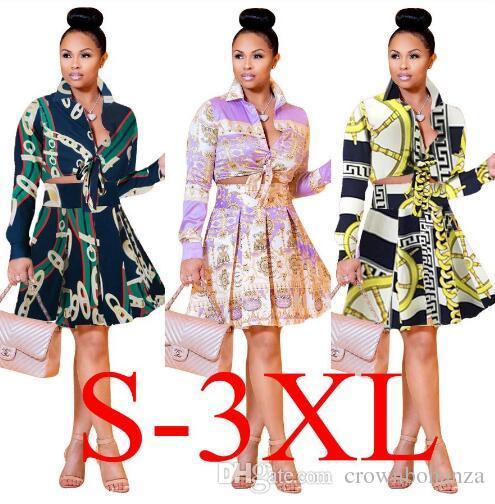 002da5b96534ef 2019 Stand Collar Long Sleeve Set Women Crop Grid Top   Pencil Skirt Co Ord  Ladies Elegant OL Style Twopiece From Crownbonanza