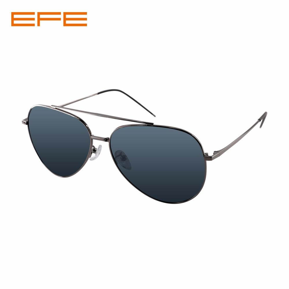7d1fb9c7fe496 Compre EFE 2018 Moda Masculina Polarizada Óculos De Sol Full Metal Frame Piloto  Óculos De Sol Retro Masculino Condução Eyewear UV400 J3064 De Junemay, ...