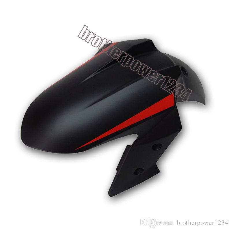 Inyección ABS Flat Matt Black Red Fairings para Kawasaki Ninja 300 EX300R 2013 14 15
