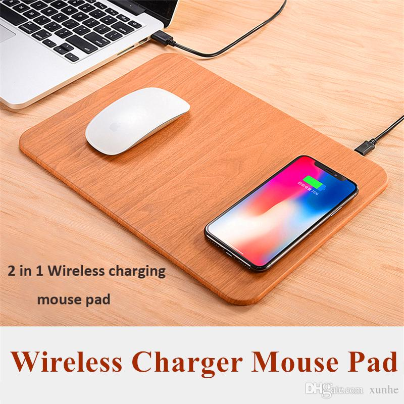 2018 Fashion Qi Wireless Charger Mouse Pad Multi Function