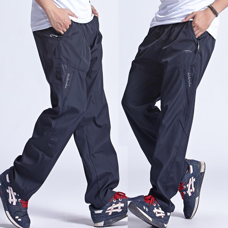 4ae6cf252d9 Grandwish 2018 New Quickly Dry Breathable Exercise Pants Men Elastic Waist Men  Active Pants Outside Trousers Plus Size 3XL