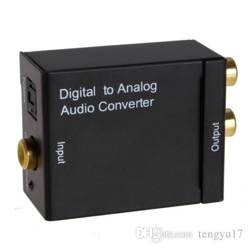 Gute Qualität Digital Adaptador Optik Koaxial RCA Toslink Signal zu Analog Audio Konverter Adapterkabel