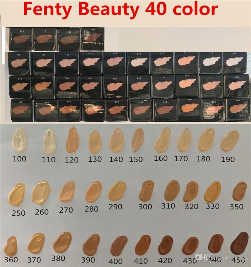 �ล�าร���หารู��า�สำหรั� Fenty Beauty By Rihanna PRO FILT'R Soft Matte Longwear Foundation 140