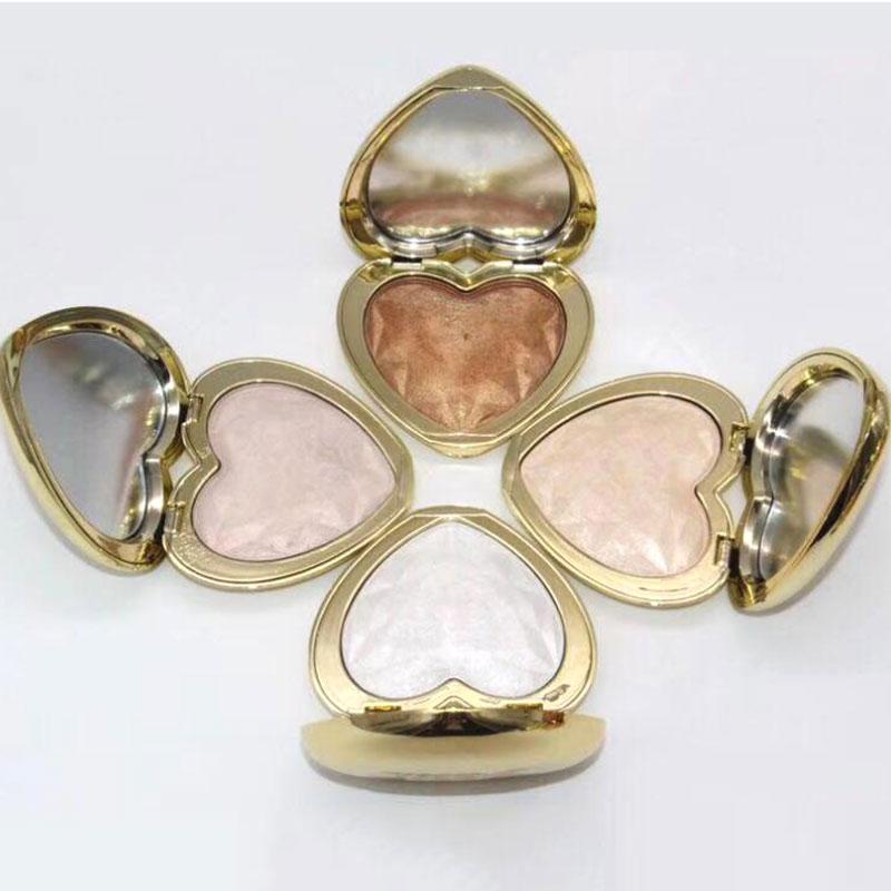 ماكياج T00Faced الحب ضوء المنشورية تمييز ماكياج bronzers الذهبي التلألؤ المنور 8 ألوان ظلال العيون أعلى جودة