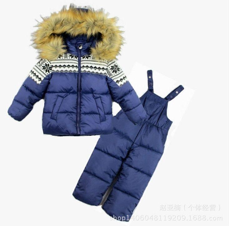 79299df822 2019 2018 Children Winter Clothes For Baby Girl Boy Kids Infant Jacket+Pants  Rumper Toddler Kids Clothing Ski Ski Snow Suit Sets From Pearguo