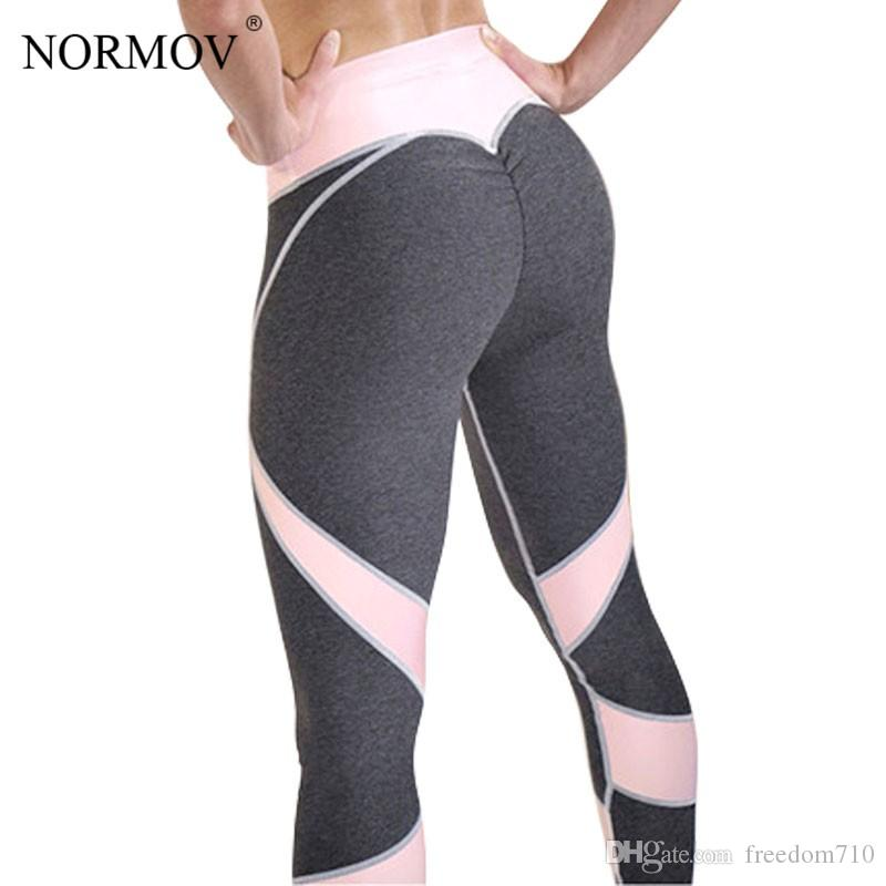 2019 Sexy Push Up Leggings Women Heart Patchwork Fitness Legging Femme  Activewear Breathable Stretch Pants Women S XL From Freedom710 88f61f4d3a7