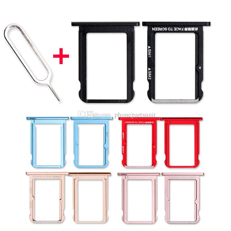 25Pcs/Lot For Xiaomi 6x Micro SIM Card Tray Holder Accessories Mi 6X A2  M1804D2ST Micro SD Card Slot Adapter With Sim Card Eject Tool