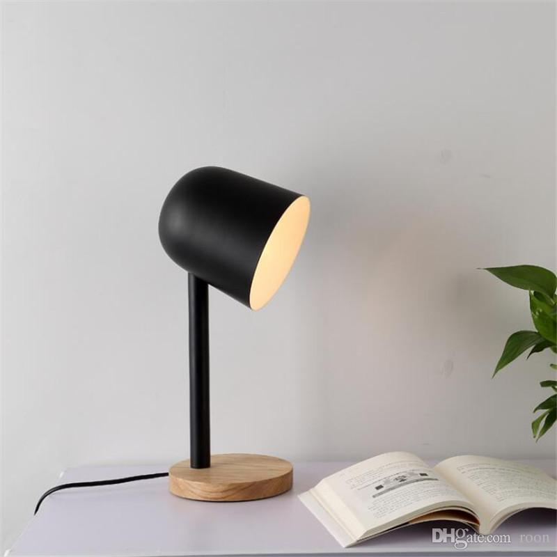 office table lamps. 2018 Nordic Color Table Lamp Minimalist Creative Work Study Desk For Bedside Reading Office Light , Support Drop Shipping From Roon, Lamps