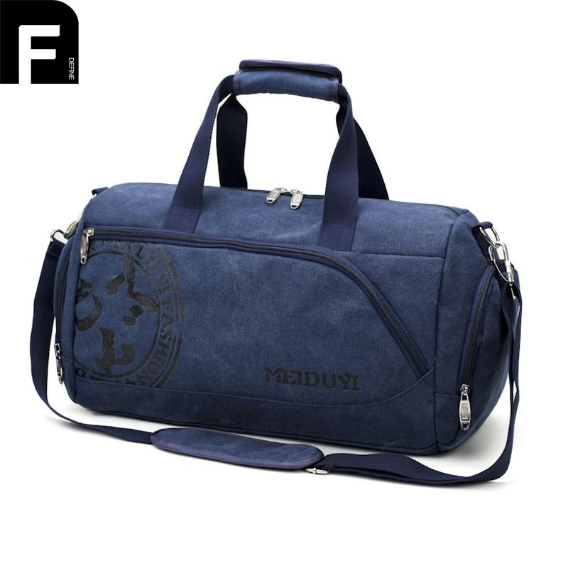 Waterproof Big Men Travel Bags Canvas Leather Duffle Bag Mens Tote Portable  Carry On Overnight Weekend Bag Luggage Bags Online Shopping Travel Duffel  Bags ... 1b351204d5bb8
