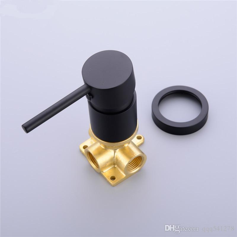 Black Bidet Toilet Handheld Bidet Spray Brass Hot & Colde Bidet Faucet Shattaf Shower Sprayer Hold Hose