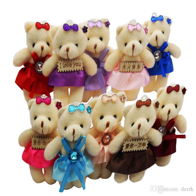 Großhandel Weihnachtsgeschenke Bär Puppe Plüsch Stofftiere Spielzeug ...