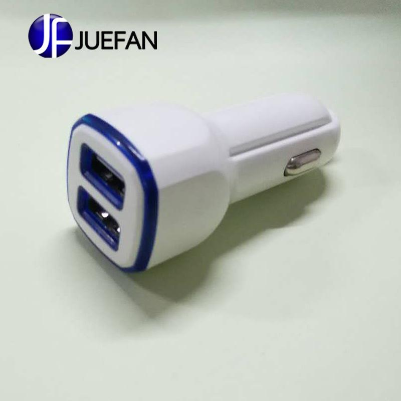 2019 5v Dual Usb Car Charger Charger Car Phone Multi Function Dual