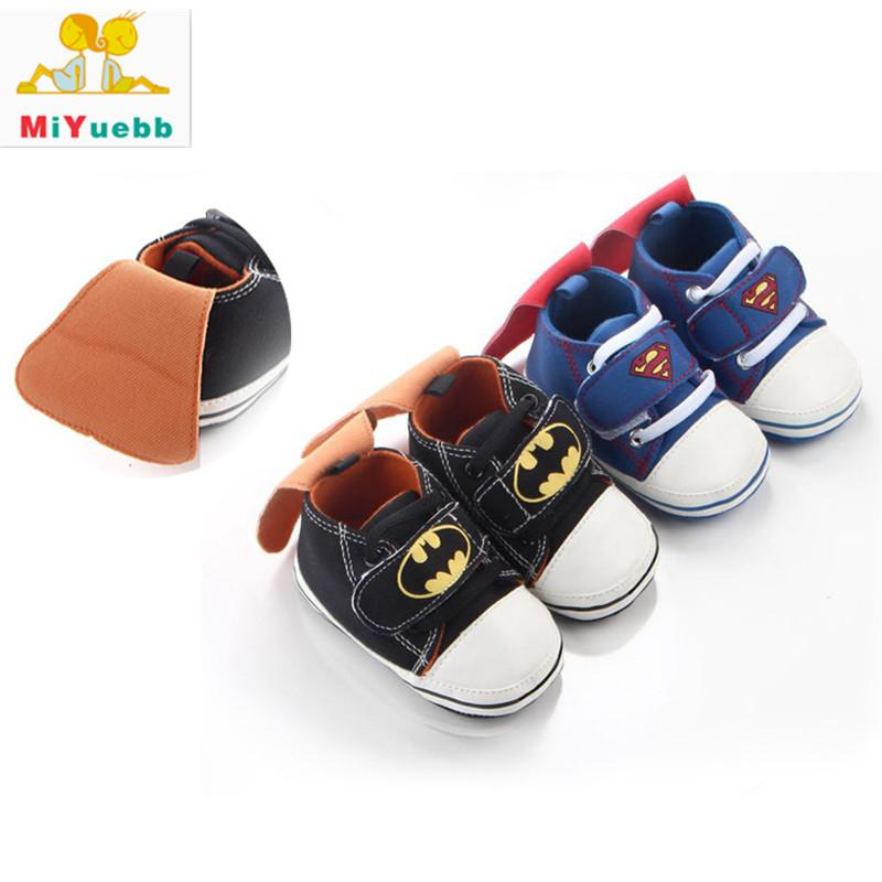 New 1 Pair Children Cotton Sticker Casual Shoes Anti-skid Baby Soft Bottom  Shoes 3 Size Baby Prewalking Breathable Shoe