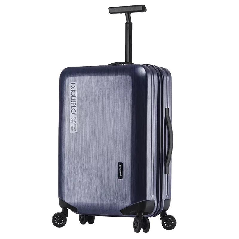 Cheap Sale Rolling Luggage Aluminium Frame Travel Suitcase Travel Bags Woman Trolley Case 20inch Boarding Case 24/28inch Carry On Suitcases Luggage & Travel Bags