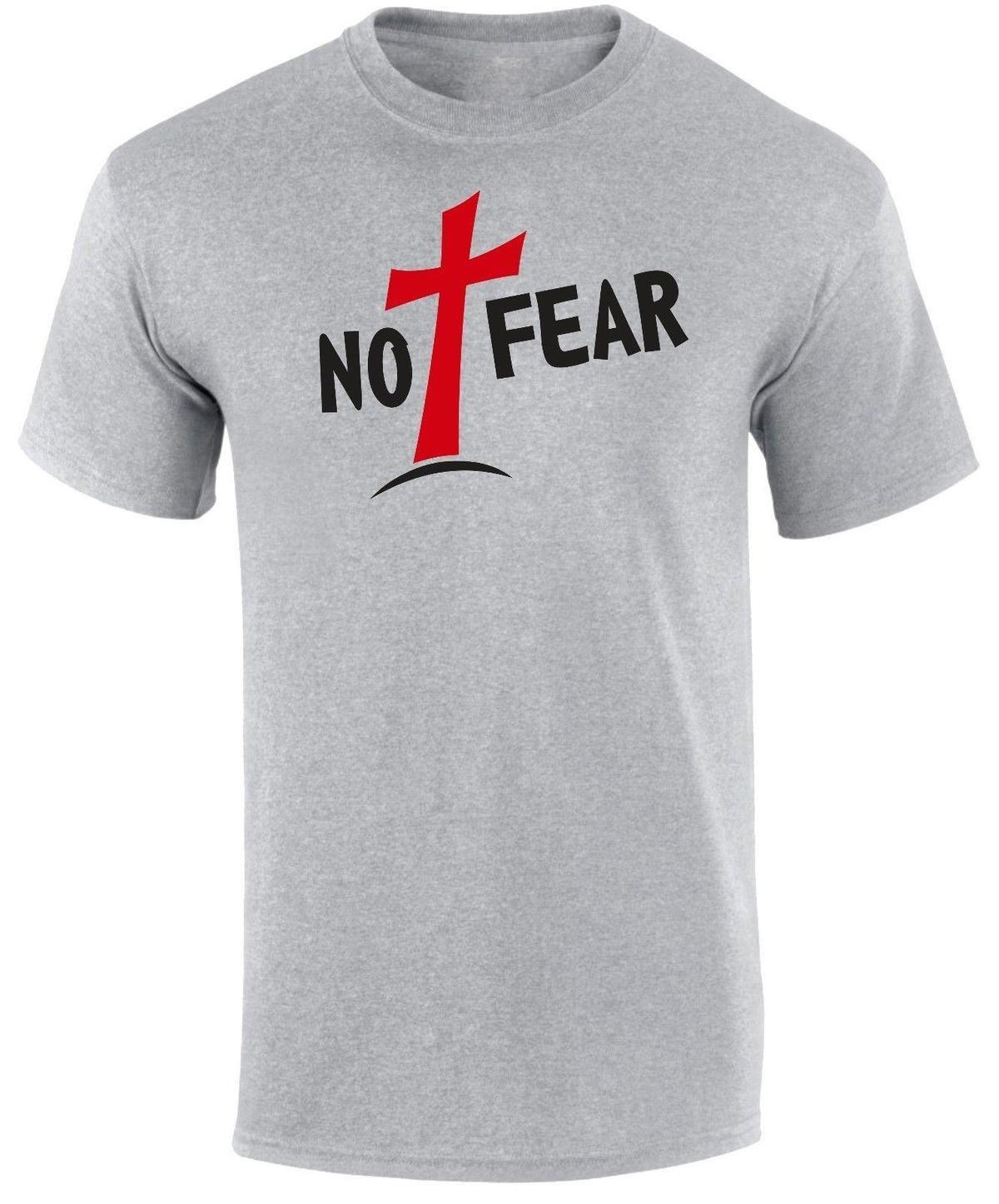 4bb5af63a Compre La Camiseta De Los Hombres De La Fe Religiosa De Pascua De La Cruz  Roja De Jesucristo Del Miedo No Jesucristo A $12.08 Del Lijian01 |  DHgate.Com