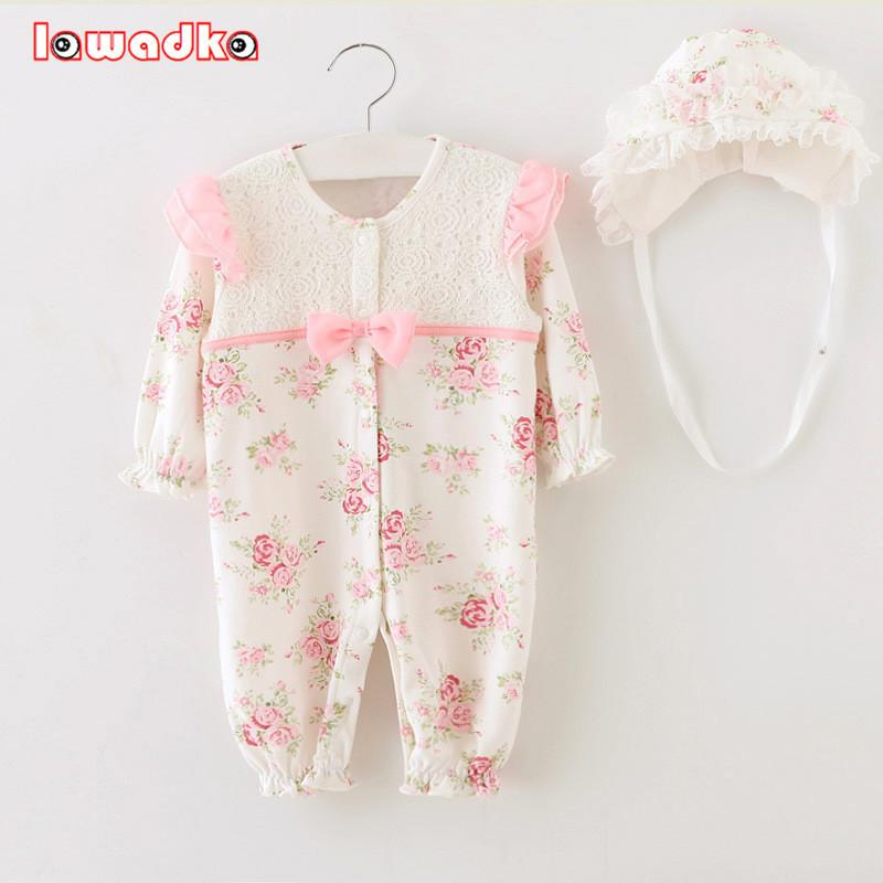 05365a49e 2018 2015 Newborn Princess Style Baby Girl Clothes Kids Birthday ...