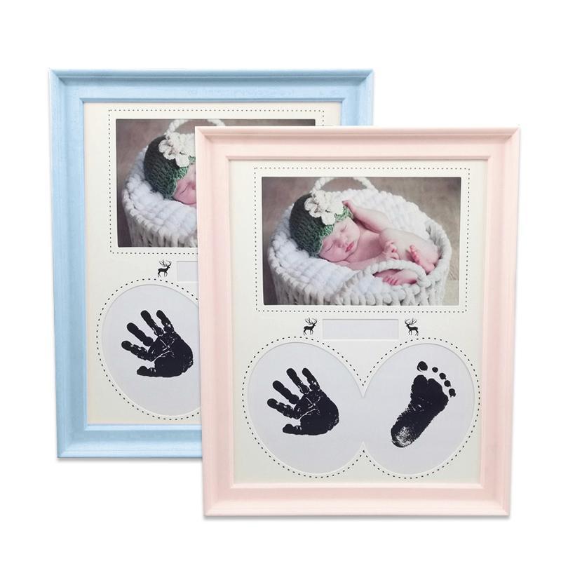 2019 Pretty Baby Photo Frame Newborn Handprint Footprint Non Toxic