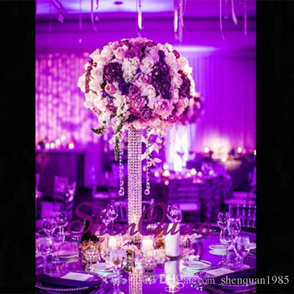 2019 Holesale Cheap Glass Column Centerpieces Made In China For