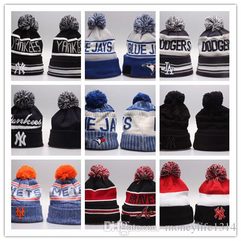 2741a40bc4c Wholesale Newnest Sports Beanies Women s Hats Men s Winter Hats Knit ...