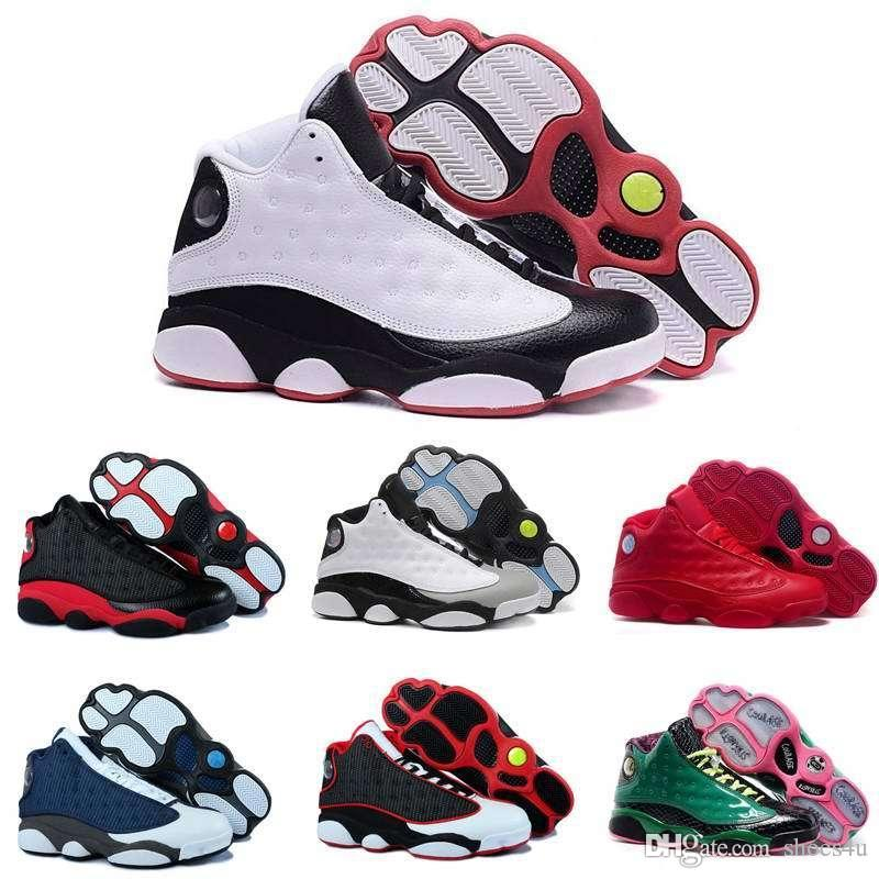 With Box2016 Factory Store Cheap Hot New 13 13s Mens Basketball Shoes  Sneakers XIII Original Quality Shoes US 8 13 Discount Shoes Shoe Shops From  Shoes4u e8417a3916b4