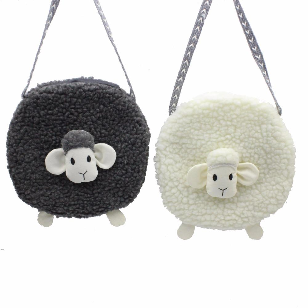 aefd4fc40113 M650 Plush Small Sheep Children Messenger Bag