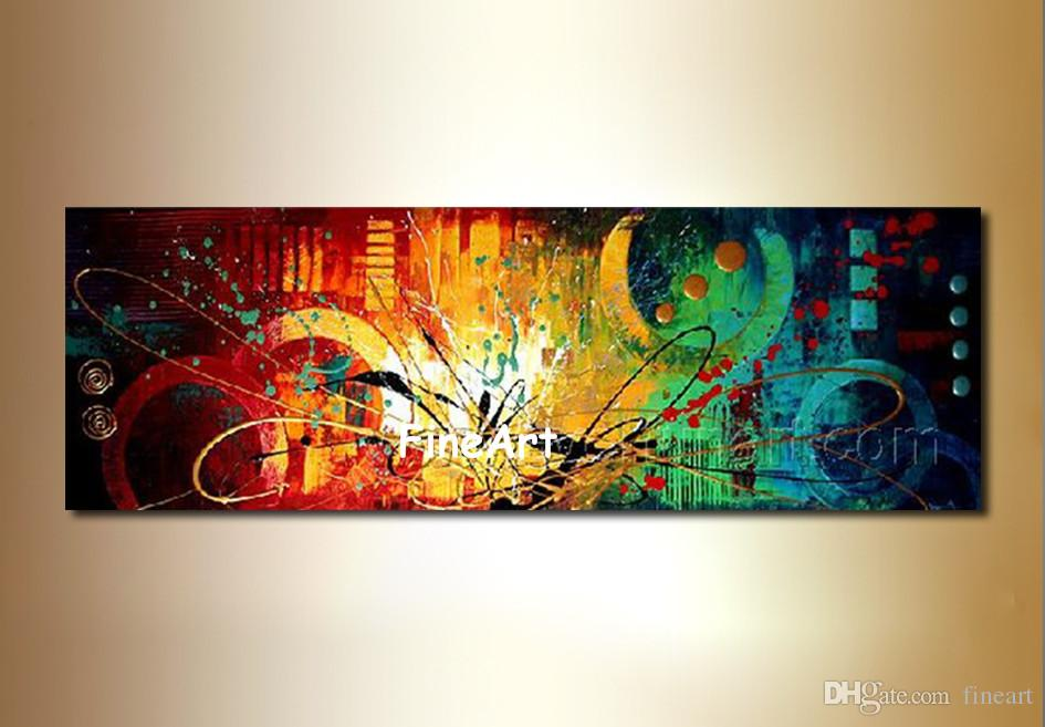 énorme art peinture à l huile toile à la