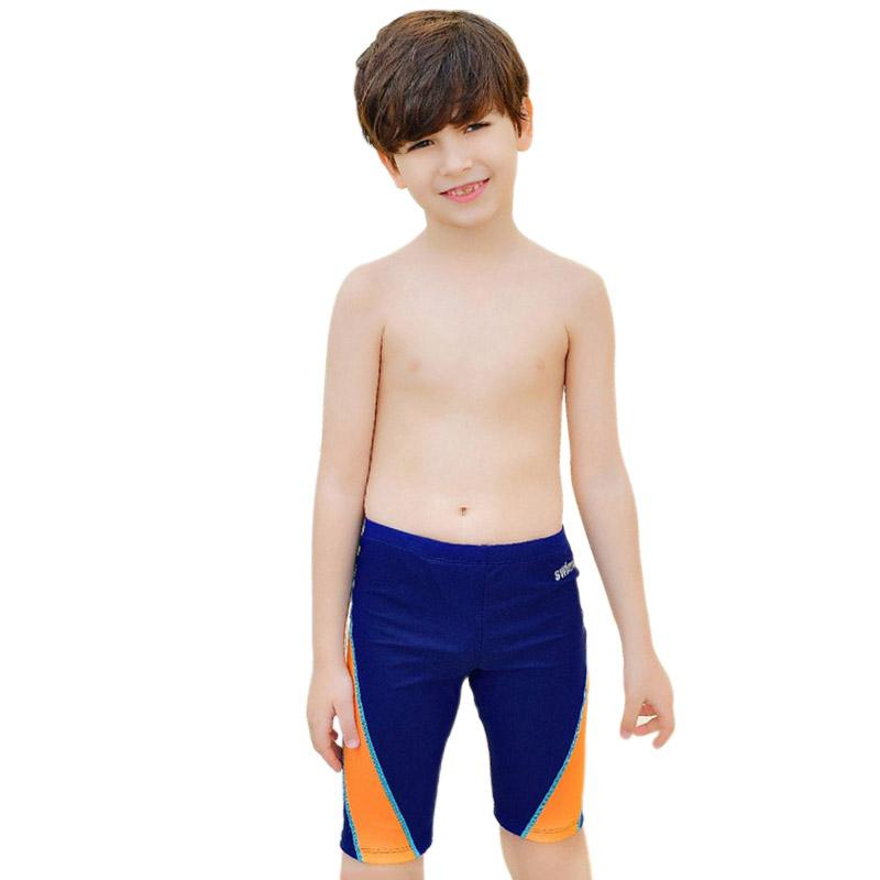 0a88967bf0785 2019 Boy Kids Swimwear Beach Surf Shorts Elesticity Waist Print Swimming  Trunks For Boys Children s Summer Swimsuit Trunks Soft From Stepheen