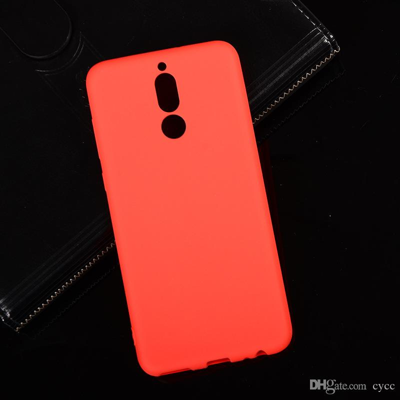 Für Microsoft Nokia Lumia 7 Plus 6 2. 2018 Weiche TPU Silikon Matte zurück Abdeckung Schutzhülle Telefon