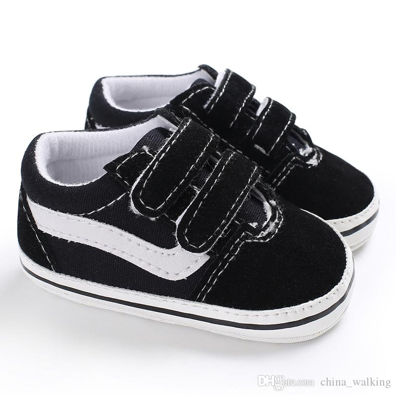 Newborn Baby Male Unisex Canvas Baby Shoes Kids Shoes Infant Toddler