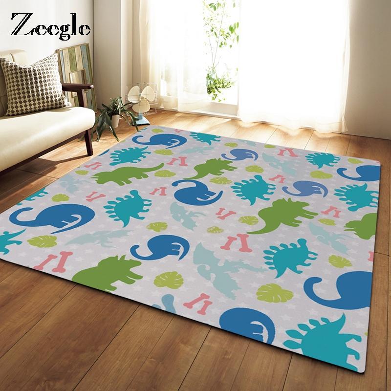 Acheter Zeegle Colore Dinosaure Imprime Grande Taille Home Decor