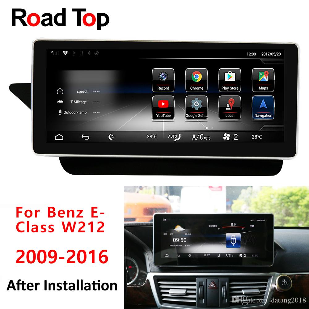 Android 5 1 Car Radio GPS Navigation Bluetooth Head Unit for Mercedes Benz  E-Class 2009-2016 W212 V212 E200 E250 E300 E350 E400 E500